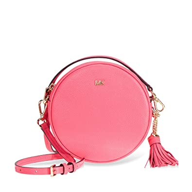 ee181973e88d96 Amazon.com: Michael Kors Mercer Medium Canteen Crossbody Bag- Rose Pink:  Clothing