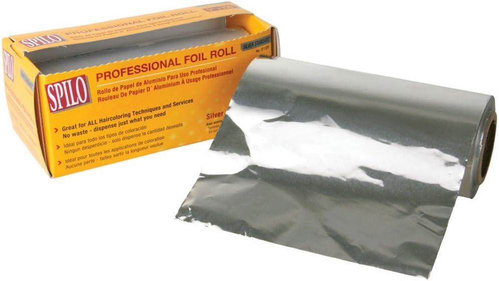 SPILO Professional Foil Silver Roll Foil (Model: SF1000)