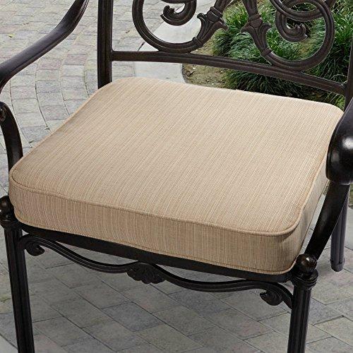 (Mozaic Company Sunbrella Corded Indoor/Outdoor Chair Cushion)