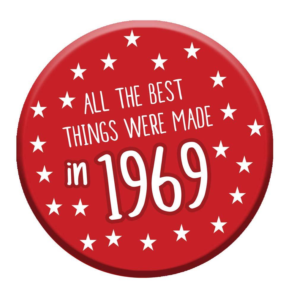 都内で 50歳の誕生日のバッジ50本日76mmピンボタンノベルティギフト男性女性1969年製 B074ZFSSKQ B074ZFSSKQ, eくらしshop:2a41c011 --- mcrisartesanato.com.br