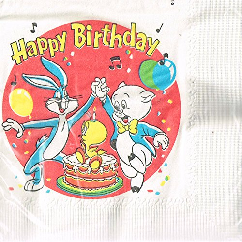 Looney Tunes Vintage Red Small Napkins (20ct)