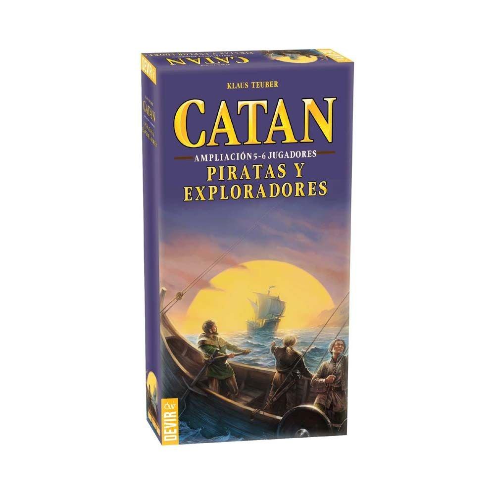 Catan, Piratas y Exploradores-Ampliación para 5 y 6 jugadores https://amzn.to/2AQu4Xb