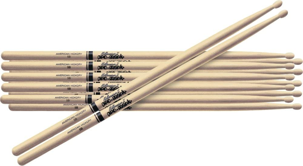 PROMARK Drum Sticks Shira Kashi Oak 808 Wood Tip Pair PW808W