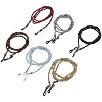 BAOBLADE 6 Pieces Eyeglass Sun Eye Glasses Holder Neck Cord Sunglasses Chain Lanyard