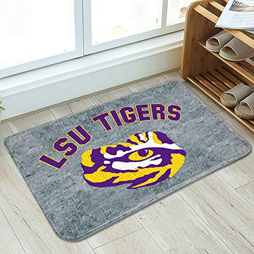 College Flags and Banners Co. Louisiana State LSU Tigers Cushioned Floor Bath Mat - Tiger Mat Floor