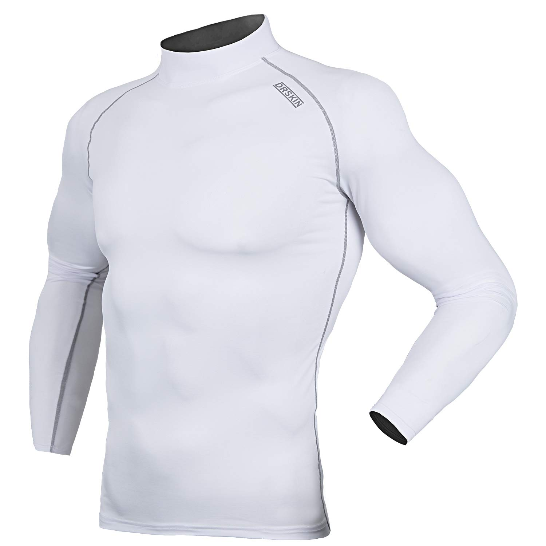 DRSKIN UV Sun Protection長袖トップTシャツSkins Rash Guard圧縮ベースレイヤーUPF 50 + B01J99LOG6 XX-Large|Sw051 Sw051 XX-Large