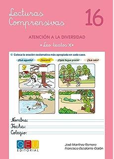 Lecturas comprensivas 16 - Leo Textos X