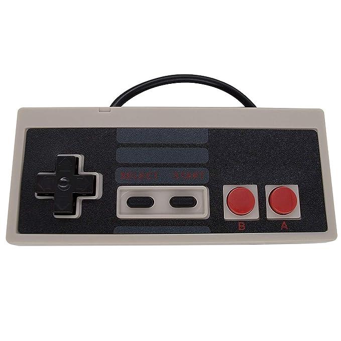 5 USB Classic Controllers for PC Windows Computer RetroPie Raspberry Pi HyperSpin and More Emulators, Resembles Nintendo (NES) Super Nintendo (SNES) ...