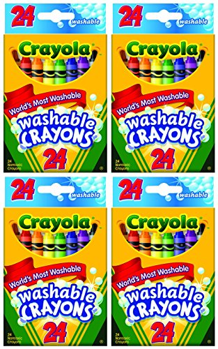 Crayola Washable Crayons Count Total