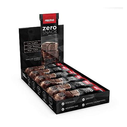 Prozis Zero Snack - Barra rico en proteína y Bajo en Hidratos de Carbono y Azúcares