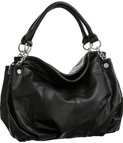 Amazon.com  Laurel Sunset Cappiello Black Large Hobo Purses  Shoes 61ee69a0fb966