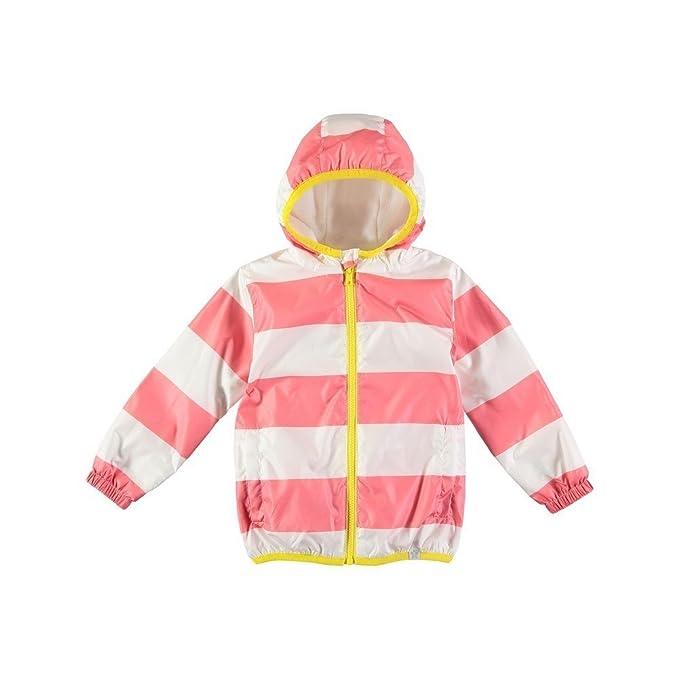 684550105 Rockin  Baby Girls Pink Stripe Rain Mac 2-3Y  Amazon.ca  Clothing ...