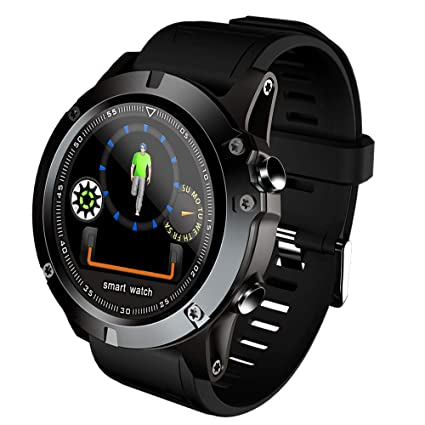 Amazon.com: Mens Smart Watch, 1.3 Inch Color Screen Smart ...