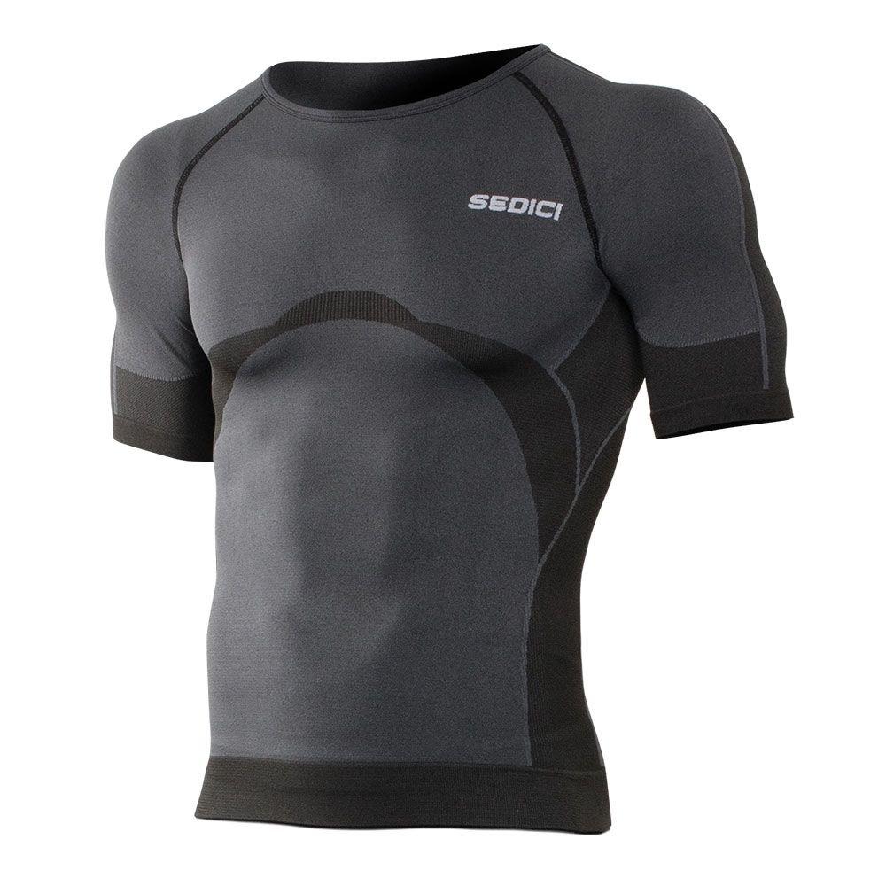 SEDICI CLOSE Short Sleeve Crew Neck - XL, Black