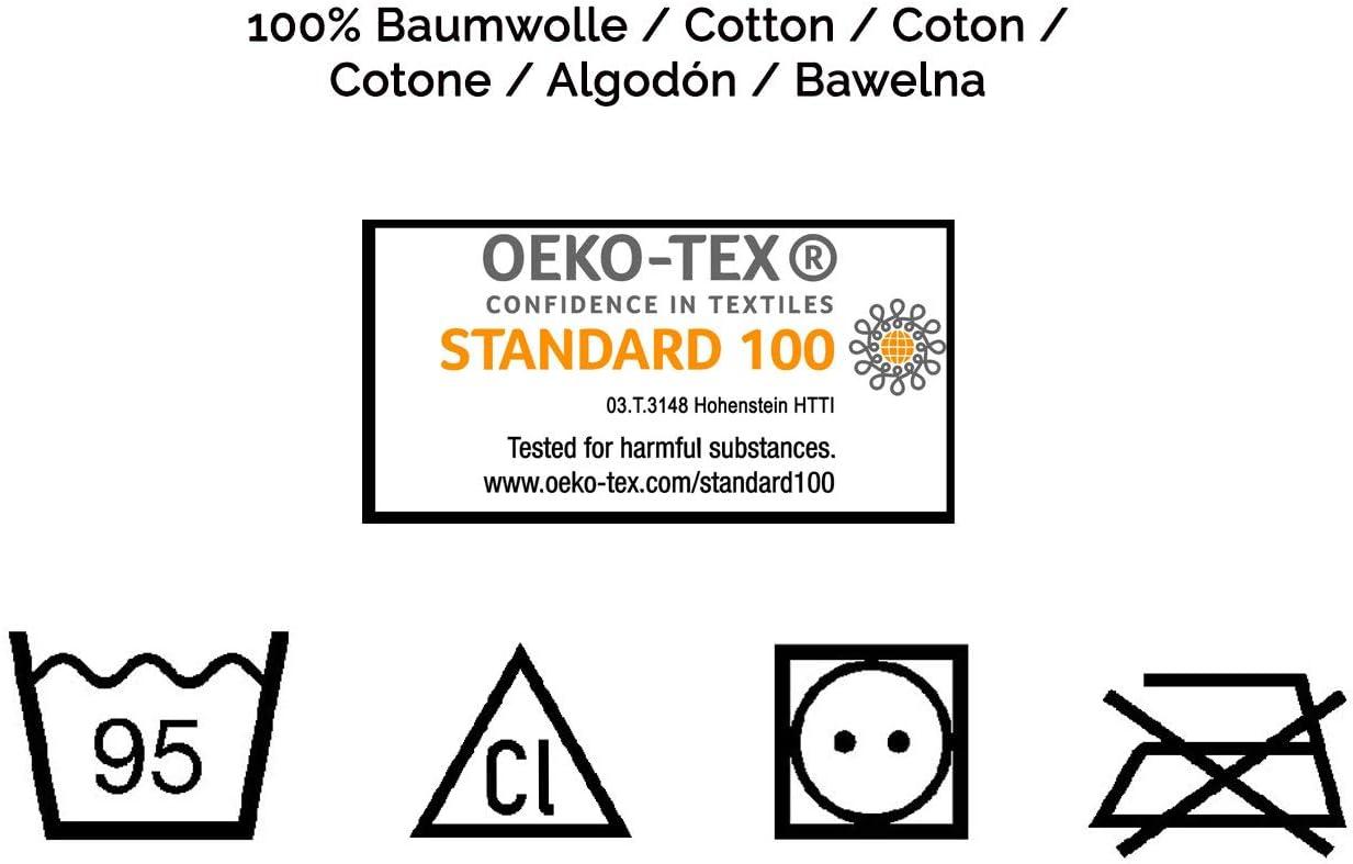 380g//qm 50x100 cm ZOLLNER 4er Set Handt/ücher beige 100/% Baumwolle