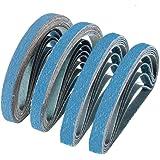18 Pack, 120 Grit 2 X 36 Inch Sanding Belts Zirconia Cloth Narrow Sander Belts