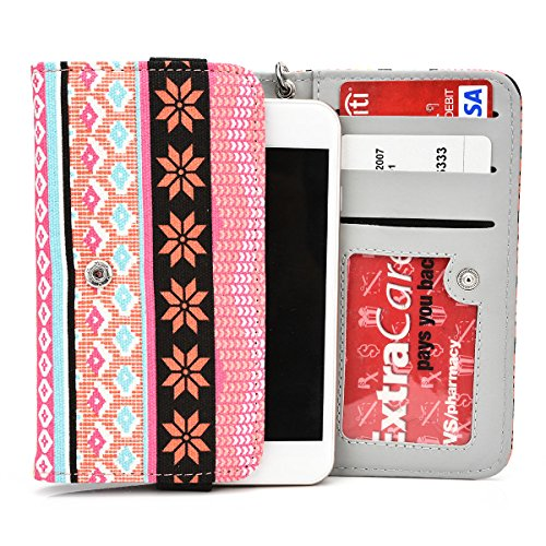 exxistr-universal-womans-wristlet-phone-wallet-protective-case-with-card-slots-fits-zte-grand-s-v988