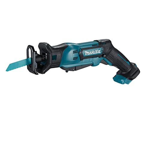 Makita djr185z cordless li ion mini reciprocating saw 18 v makita jr103dz tool less blade change reciprocating saw blue 2 piece greentooth Images