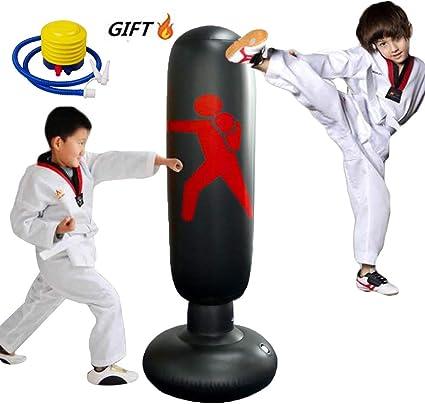 Amazon.com: xingxinqi - Saco de boxeo inflable para niños ...