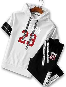 Jordan 23 Camisetas de Manga Corta para Hombre Moda Camiseta ...