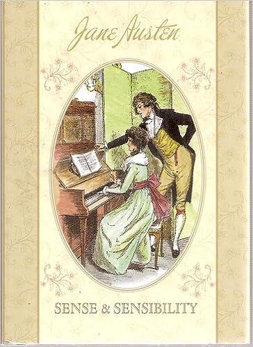 The Jane Austen Collection Sense Sensibility Illustrated Edition 9780755490400 Amazon Books