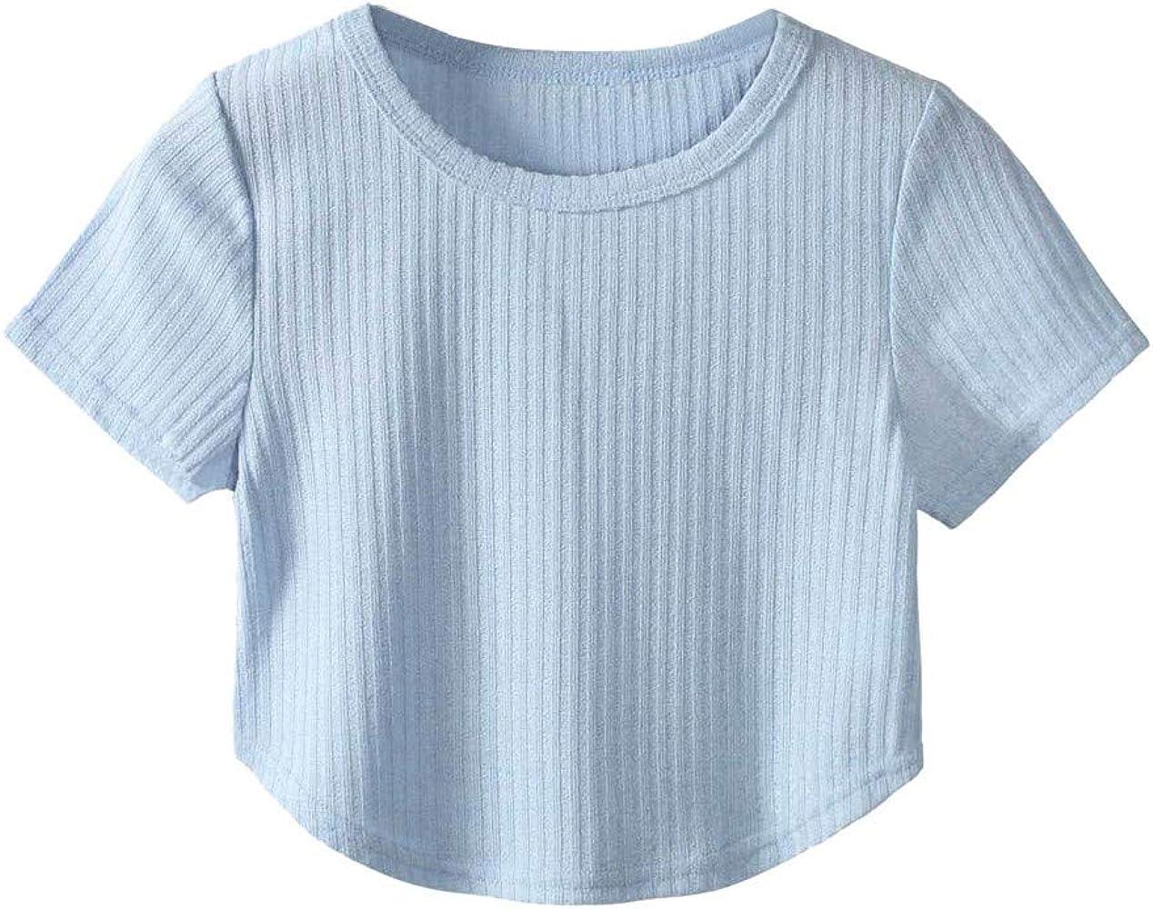 JUTOO Camisetas Mujer Verano Camisetas de Mujer Verano Camisetas de Manga Corta Mujer Camiseta Manga Corta Camisetas Blanca Mujer Manga Corta Blusa Blanca Mujer Talla Grande Blusa Blanca Mujer Encaje: Amazon.es: Ropa
