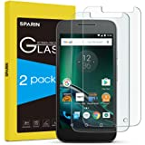 SPARIN Moto G4 Play Screen Protector, 2 Pack Tempered Glass Protector for Motorola Moto G4 Play with Ultra Clear, Scratch Resistant