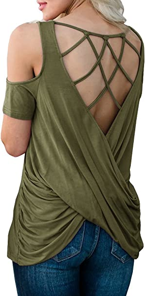 CRISS-CROSS BRA FOR OPEN BACK TOPS /& BACKLESS DRESSES