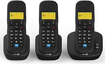 BT 3440 Trio Digital - Teléfono de respuesta inalámbrico con bloqueo de llamadas: Amazon.es: Electrónica