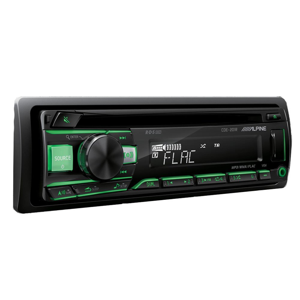 Alpine CDE-201R | CD/USB/MP3 | 1-DIN Autoradio