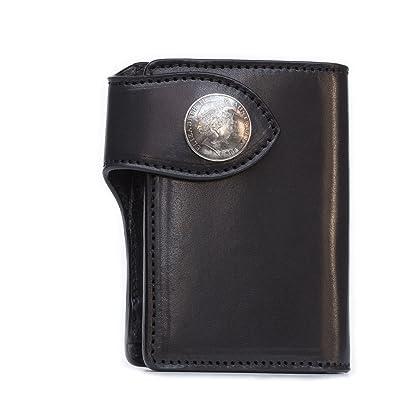 6513c168e60c Amazon | 二つ折り財布/メンズ財布/栃木レザー/牛革/レザーウォレット ...