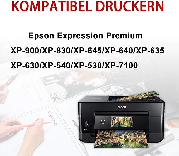 Kingway - Cartucho de Tinta Compatible con Epson Expression ...