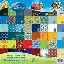 "Sandylion SC9602 Disney Mega Paper Pad, 12 by 12"", Boy"