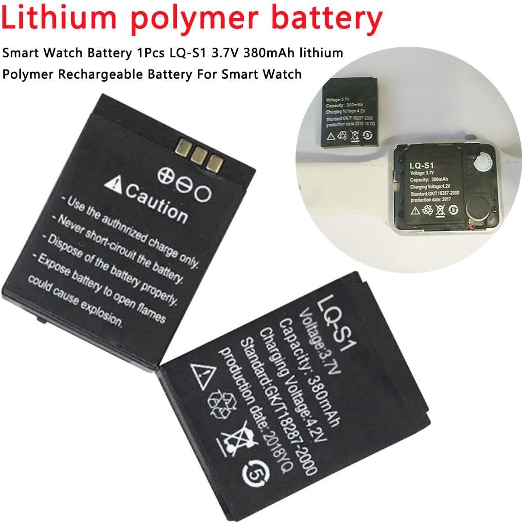 YOGINGO Reloj Inteligente de posicionamiento Infantil DZ09 batería de Litio A1 GT08 V8 Reloj batería de polímero de Litio Recargable