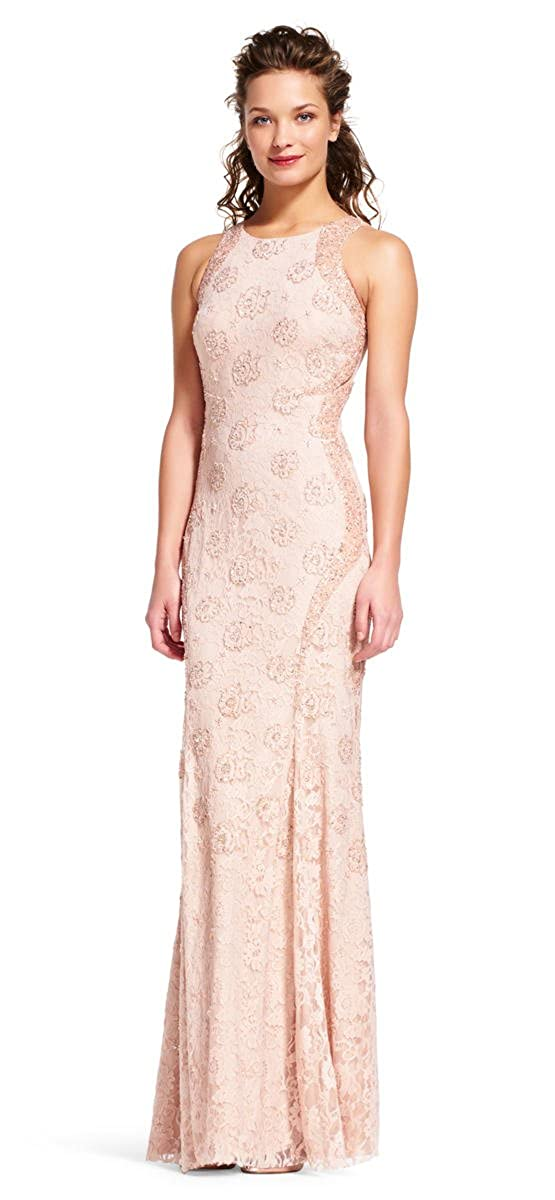 3fa5c1299c5 Adrianna Papell Halter Neck Sheath Dress