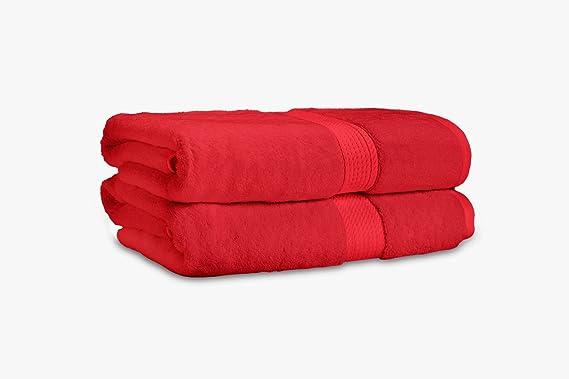 Juego de toallas de baño de 2 piezas en algodón egipcio de 900 ...