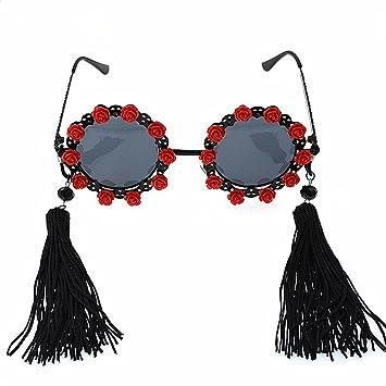1ef351f882 Peggy Gu Borlas clásicas de la elegancia y gafas de sol polarizadas de la flor  para las mujeres ...