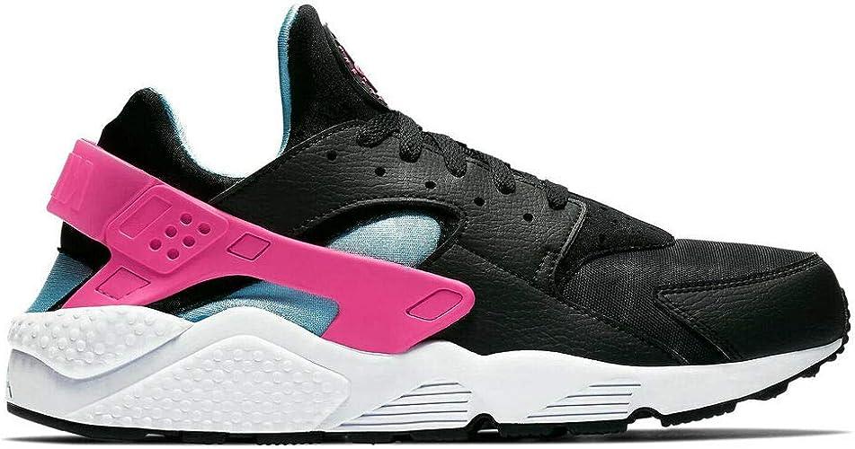 nike huarache pink blue black off 55