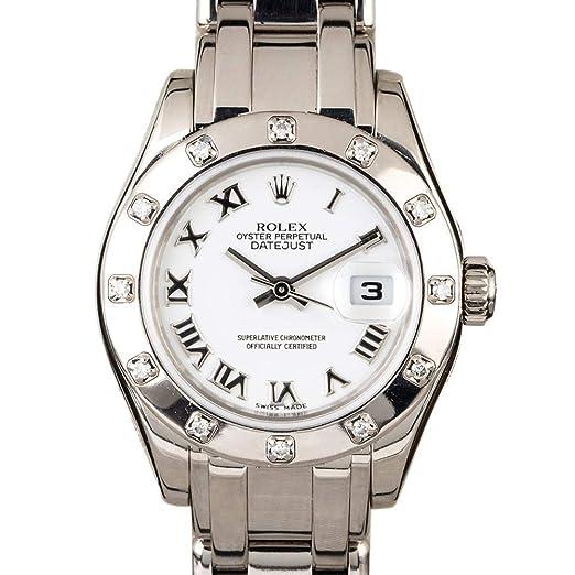 Rolex Masterpiece Reloj Suizo automático Femenino 80319 (Certificado prepropietario)