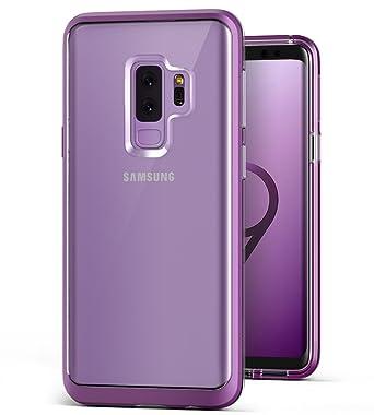 quality design b41ec 86f57 Galaxy S9 Plus Case, VRS DESIGN [Lilac Purple] Clear Dual Layer Transparent  Case [Crystal Bumper] Slim Protective TPU + PC Compatible with Samsung ...