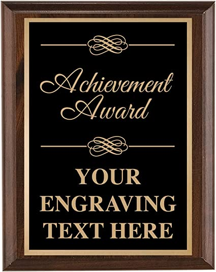 Country Printed Quality Wooden Sign Every Accomplishment Plaque New