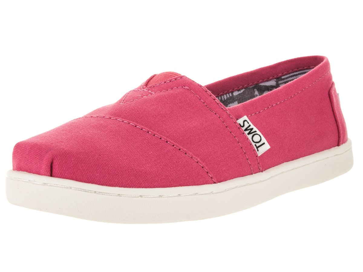 TOMS Kids Classic Barberry Pink Casual Shoe 6 Kids US