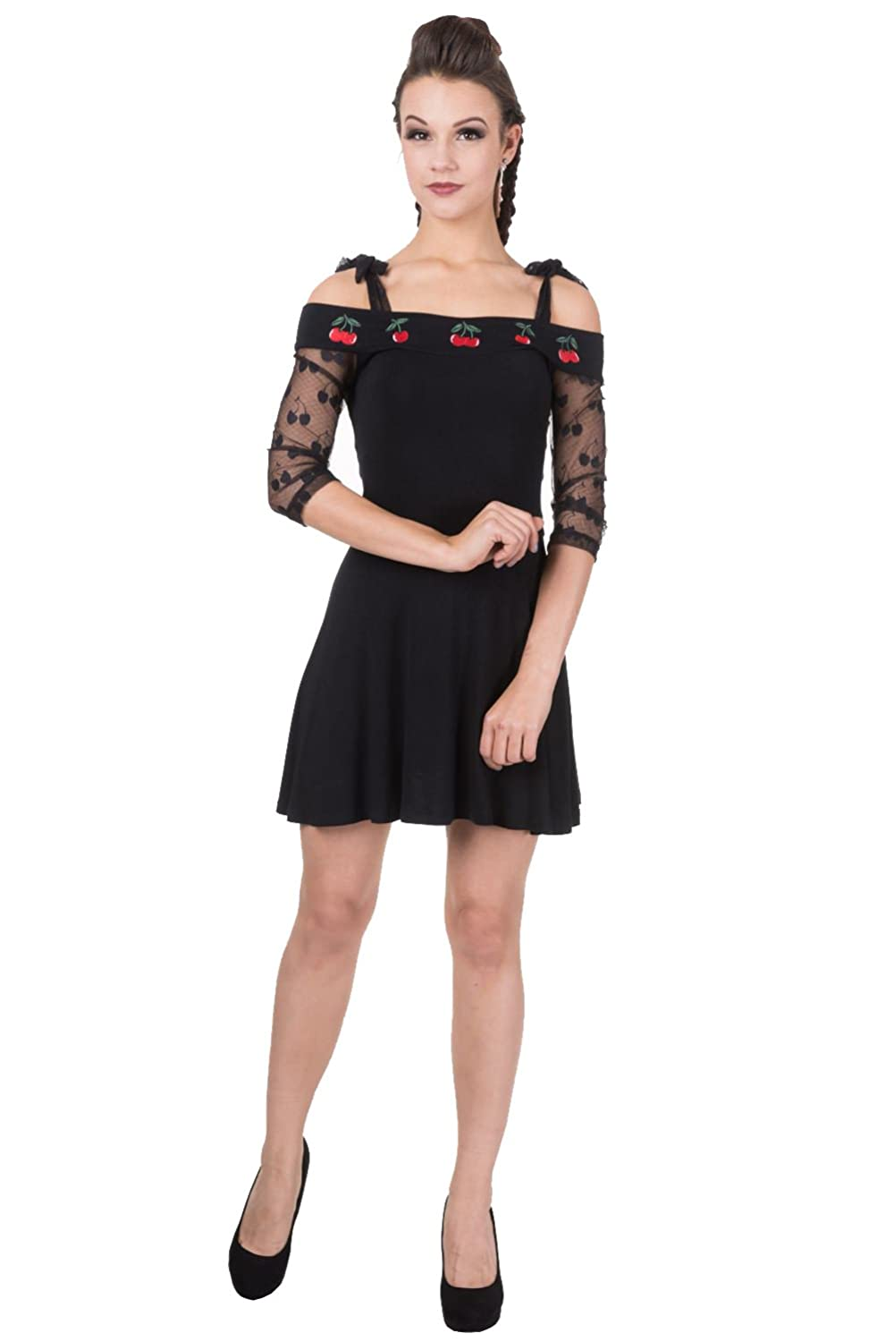 Banned - CHERRY LACE DRESS 鈥