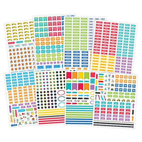 Creative Teaching Press Lesson Planner Stickers (6296)