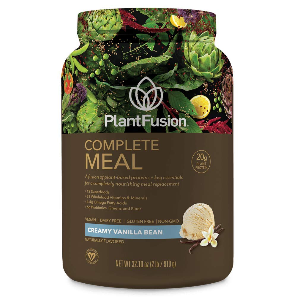 Plantfusion, Meal Shake Phood Wholefood Vanilla, 31.8 Ounce