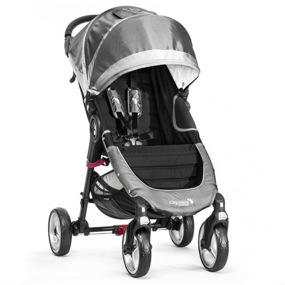 Baby Jogger City Mini 4 - Silla de paseo, color gris product image