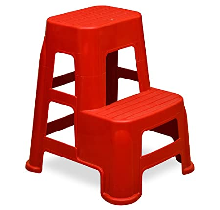 @home by Nilkamal Stool (Red) Amazon.in Home u0026 Kitchen  sc 1 st  Amazon.in & home by Nilkamal Stool (Red): Amazon.in: Home u0026 Kitchen islam-shia.org
