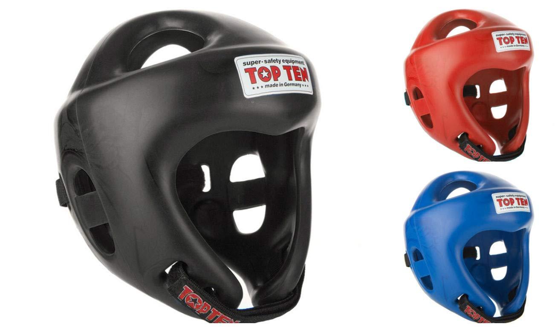 Top Ten Avantgarde Headguard Kickboxing Head Gear Guard White Boxing Sparring
