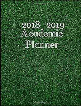 Amazoncom 2018 2019 Academic Planner July 2018 September 2019
