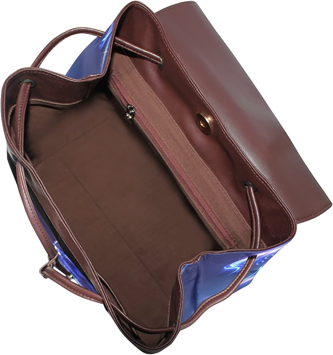 imobaby Fashion Fairy Unicorn With Sparkles PU Leather Women Girls Ladies Backpack Travel bag,Multi101